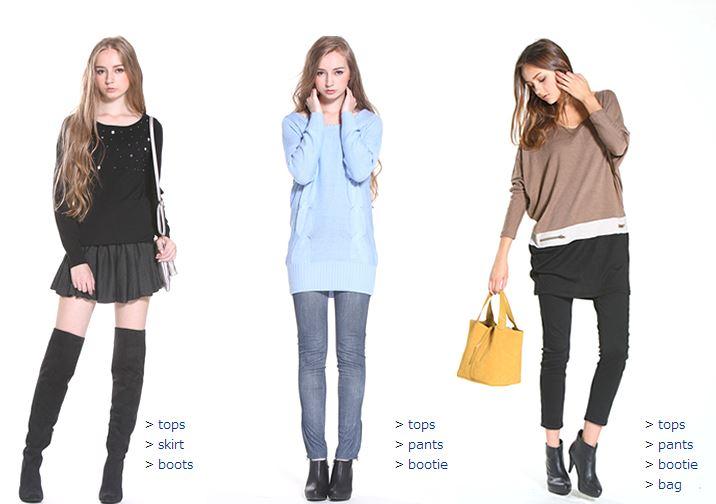 通販ショップtitivate(ティティベイト)は有名人、著名人、モデル、読モ、ブロガーに愛用者が急増中で 20~30代幅広い女性 から注目されているショップで秋服のコーデ